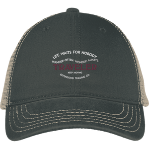 Effengood Traveler Mesh Back Cap - Atsum Effengood Coffee
