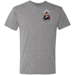 NL6010 Men's Triblend T-Shirt - Atsum Effengood Coffee