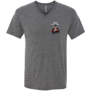 A.N. Effengood Men's Triblend V-Neck T-Shirt - Atsum Effengood Coffee