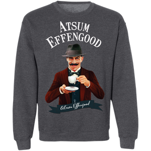 G180 Crewneck Pullover Sweatshirt  8 oz. - Atsum Effengood Coffee