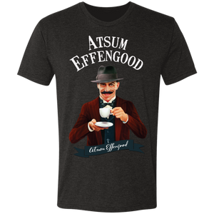A.N. Effengood Men's Triblend T-Shirt - Atsum Effengood Coffee