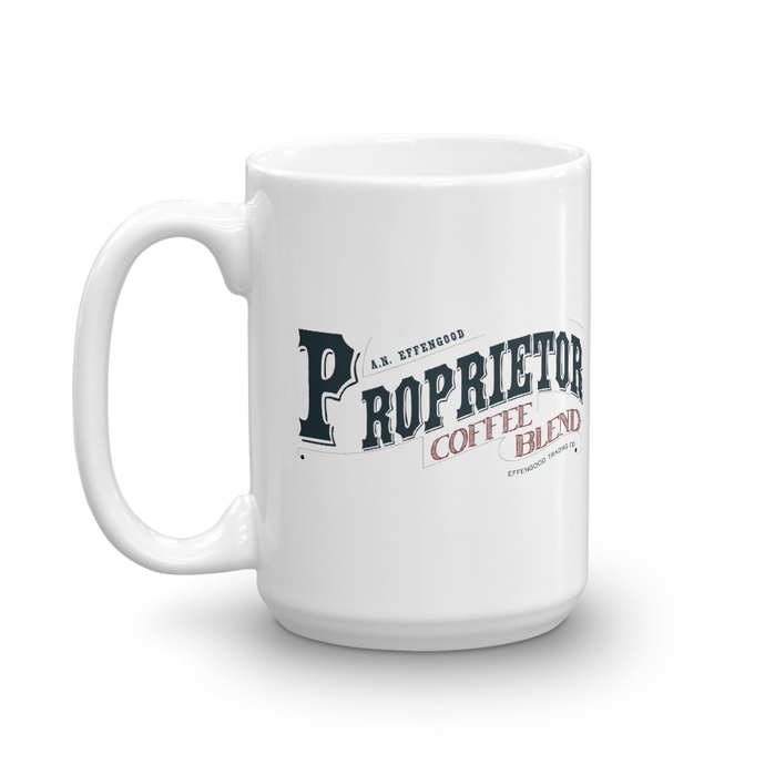 The Proprietor's Mug - Atsum Effengood Coffee