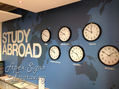 Apex Signs Digital Printing Wall Sticker