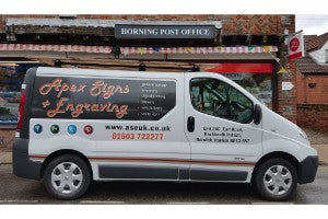 Apex Signs + Engraving Own Brand Bespoke Vehicle Livery