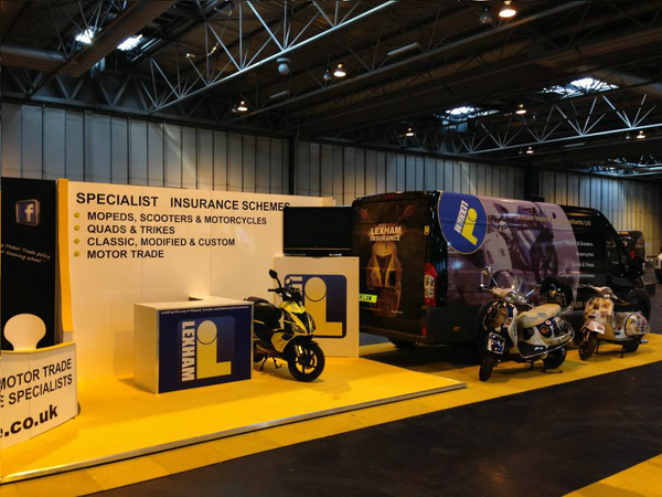 NEC Exhibition Display, exhibition signs, vehicle wrapping