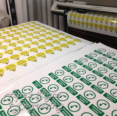 Digital Printed Stickers Apex Signs