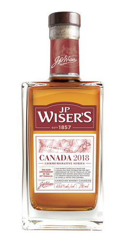 J.P Wiser's Canada 2018 Whisky