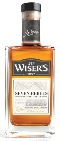 J.P. Wiser's Seven Rebels Canadian Whisky