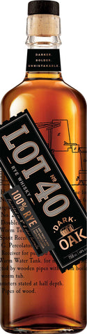 Lot No. 40 Dark Oak Canadian Whisky