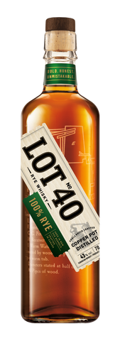 Lot No. 40 100% Pot Still Rye Whisky