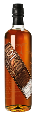 Lot No. 40 Cask Strength: Third Edition Canadian Whisky