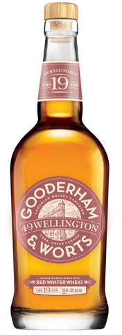 Gooderham & Worts 49 Wellington Canadian Whisky