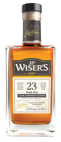 J.P. Wiser's 23 Year Old Canadian Whisky