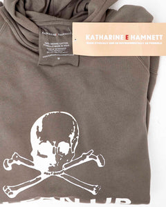 Katharine Hamnett sweater Clean up or Die
