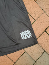 Pennant Adult Black Two pocket short with white logo