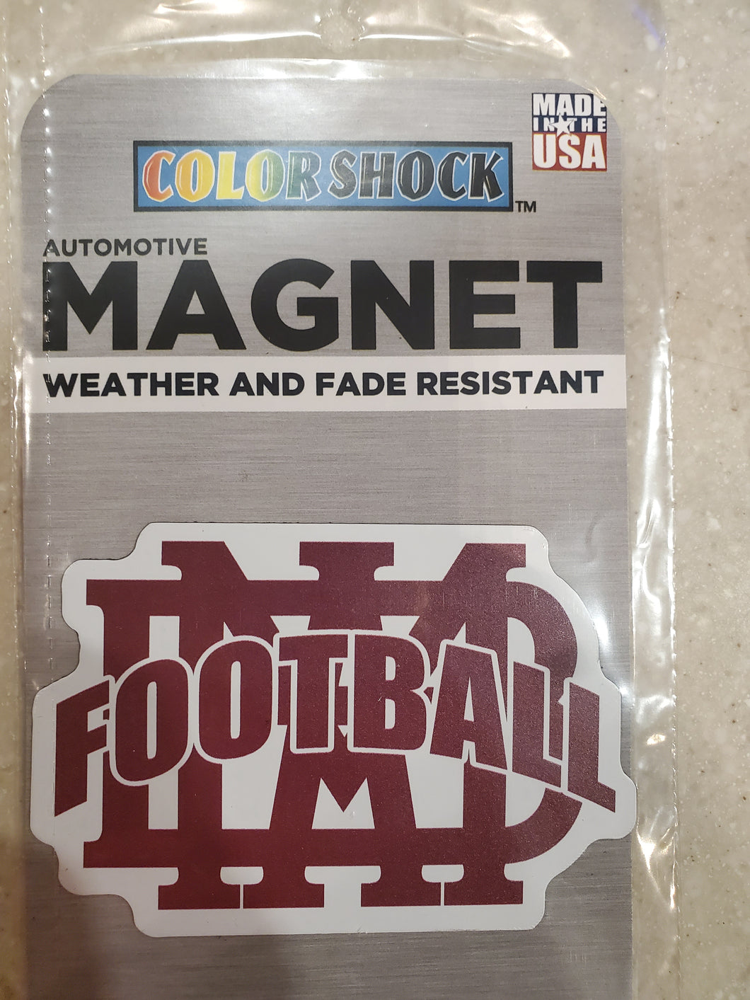 MBA Football Magnet