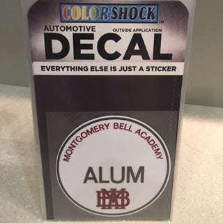 MBA Alum Decal
