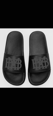 Slides Adult/Youth Black with tonal logo!!
