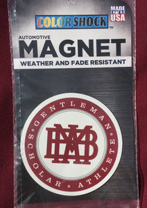 """MBA"" Automotive  Magnet"
