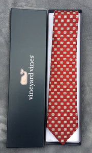 MBA Waffle Cardinal Vineyard Vines Tie (Not Senior Graduation tie)