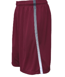 Pennant Youth/Adult Cardinal Avalanche Short with gray logo