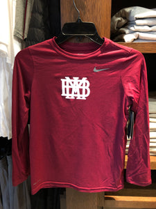 Youth Nike Dri-Fit Long Sleeve