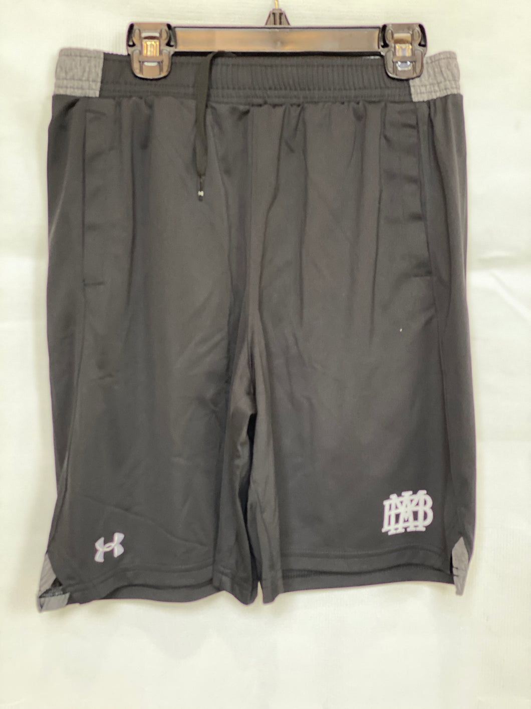 Under Armour Youth Black Pocketed Locker Shorts
