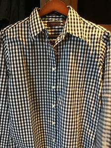 Ladies Gingham Check Shirt