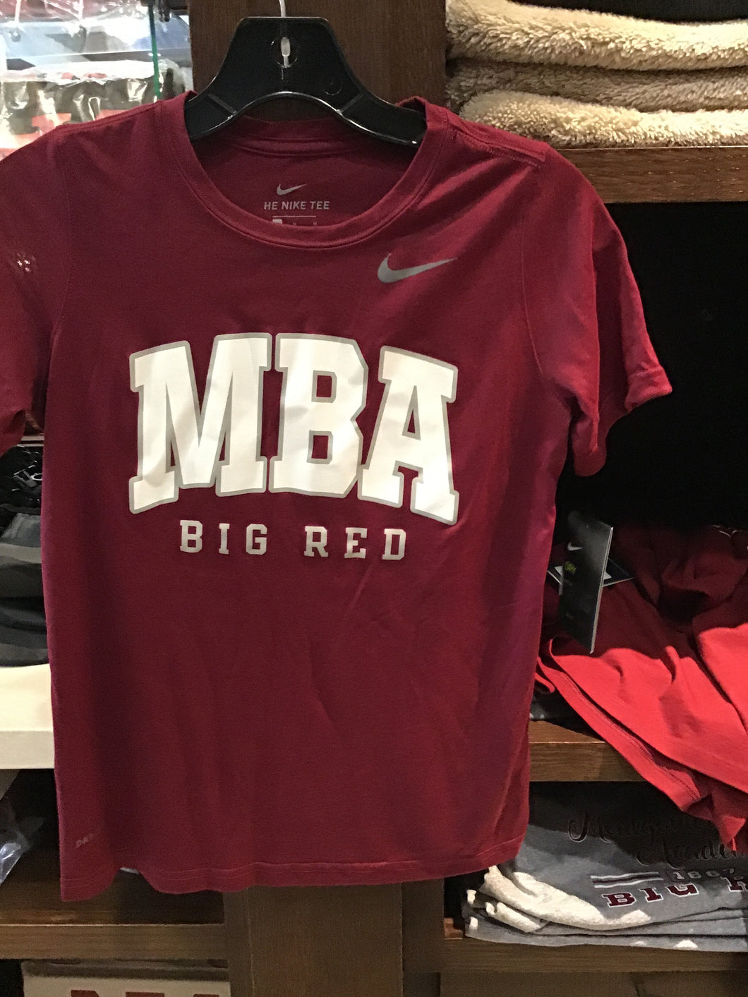 Nike Dri-Fit Cardinal MBA Letters