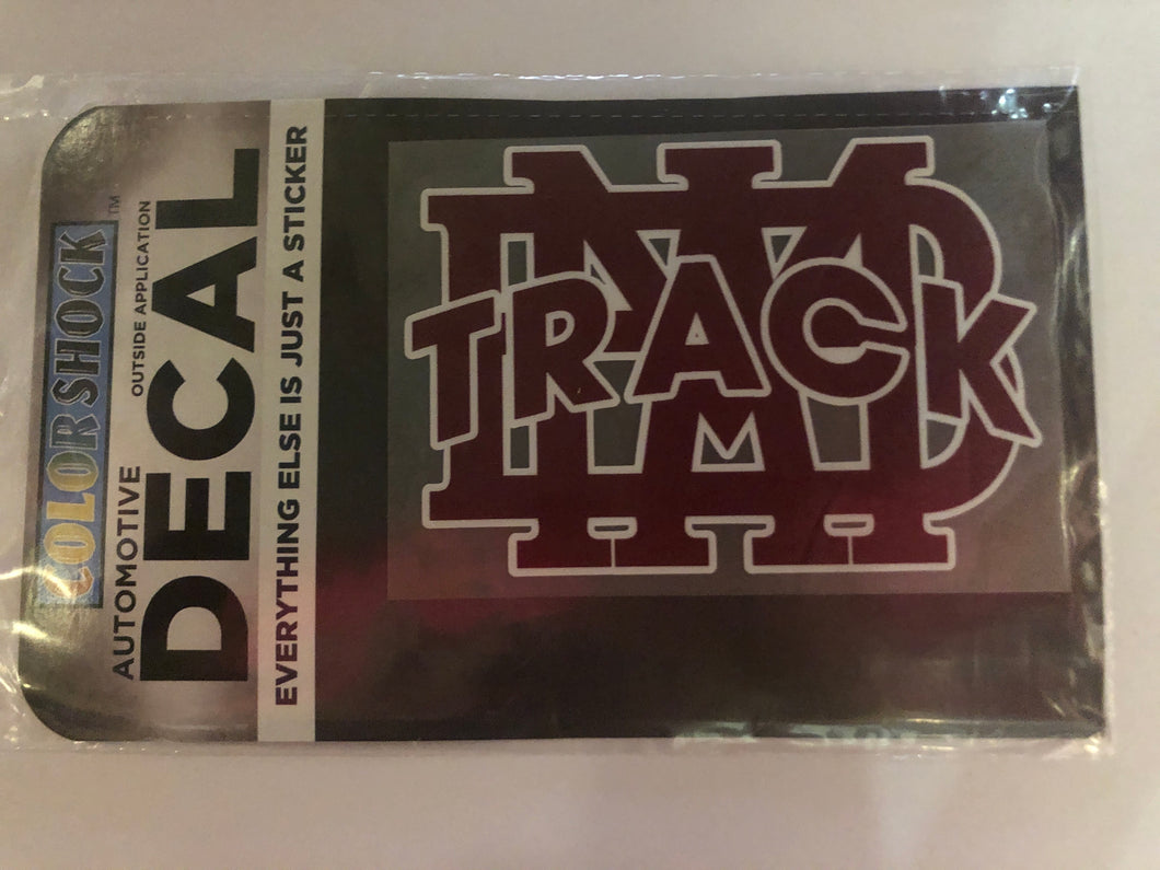MBA Track Decal