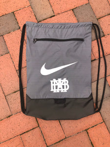 Nike Gray String Backpack
