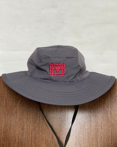Ahead Grey Wide Brim/Fishing Hat with Waffle