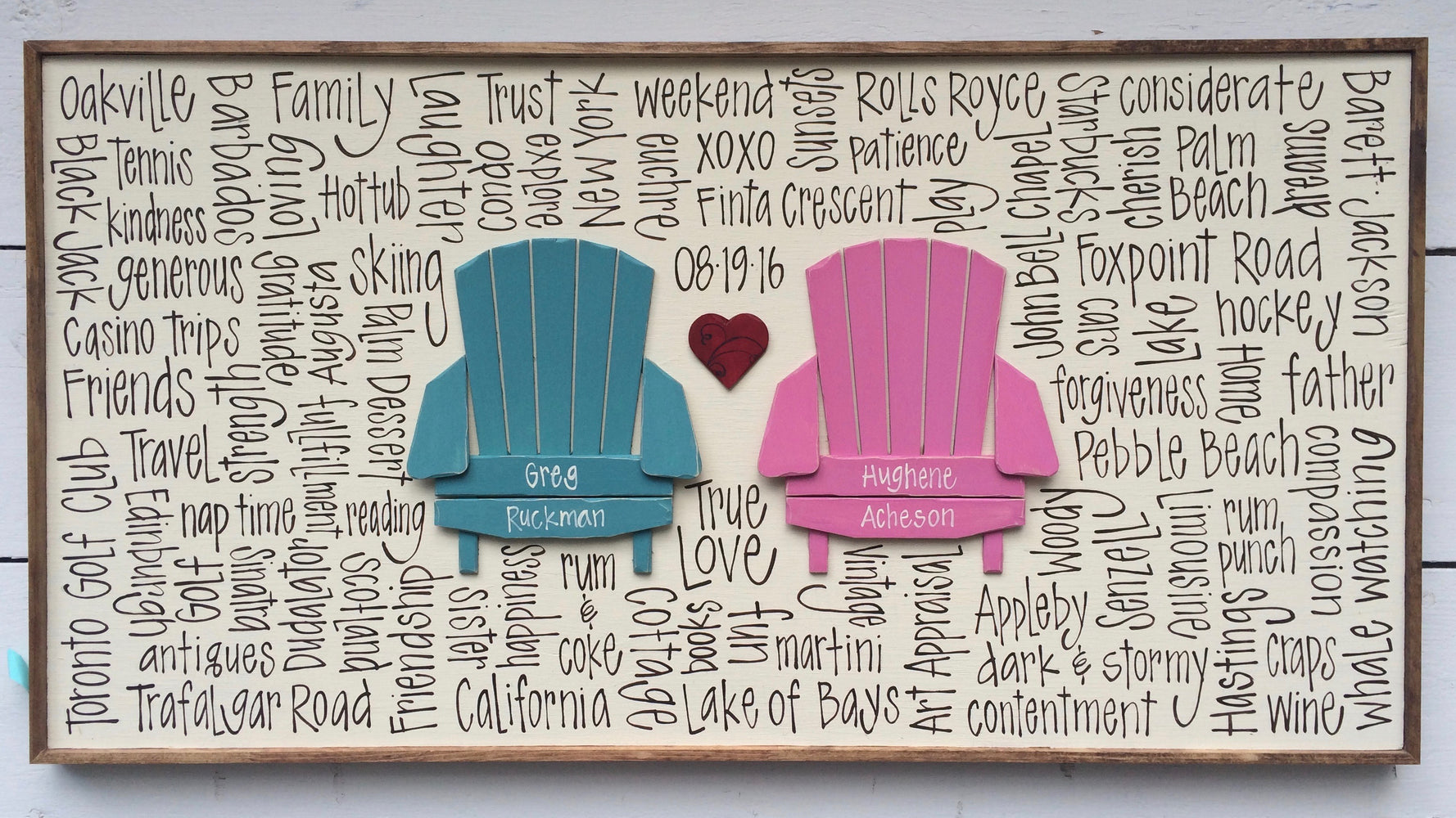 2 Chairs with Heart