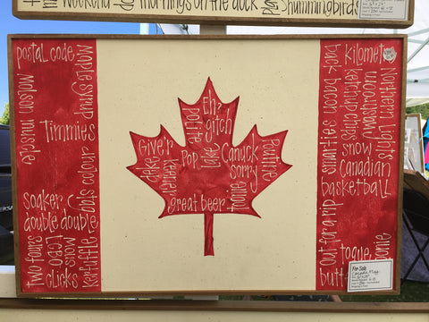 Canada Flag - Needs 8 Words
