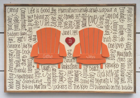 Chair Duo with Heart