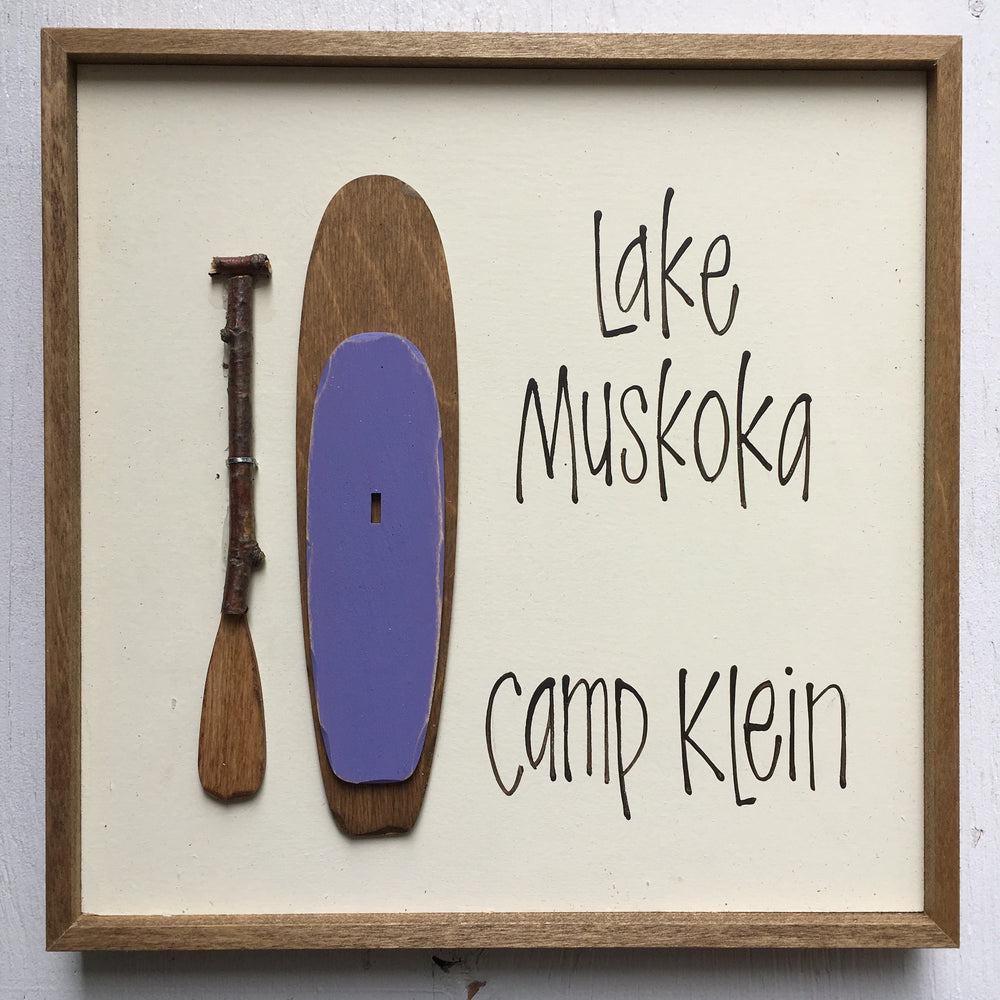 Mini Paddleboard Sign