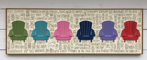 Muskoka Chair Row