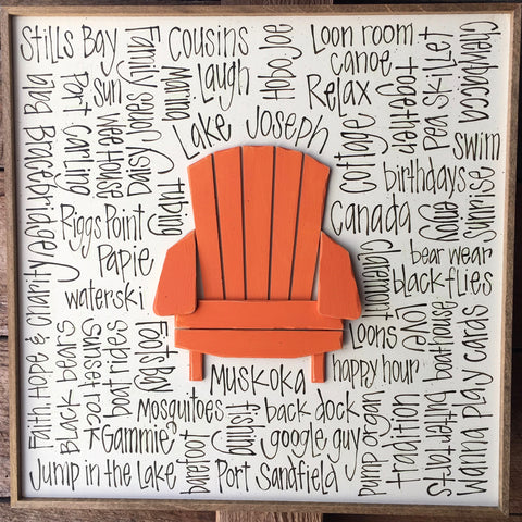 Simple Muskoka Chair