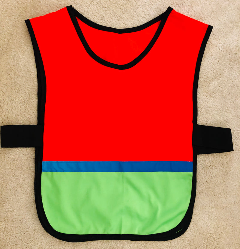 SALE-Tabard Orange/Green/Blue - Size S/M