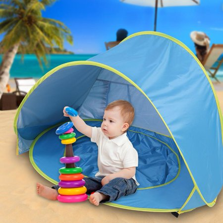 Baby Pop Up Portable Beach Waterproof Sun Shade Shelter Family Tent