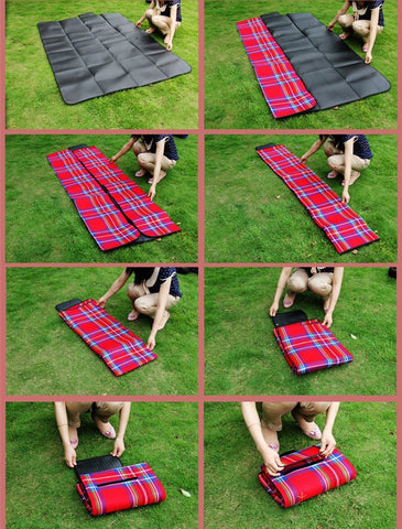 picnic blanket camping mat set outdoor
