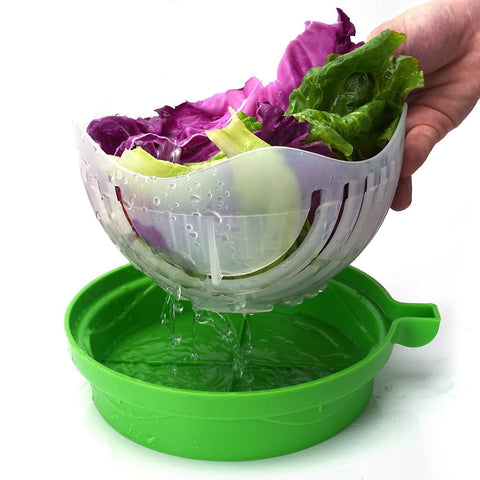 salad cutter bowl in 60 seconds
