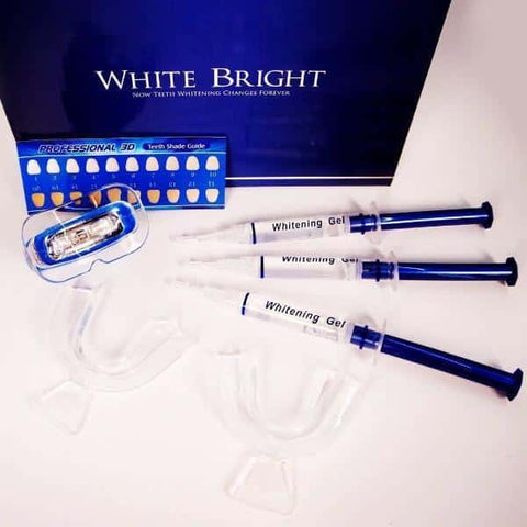 teeth whitening professional kit white bright