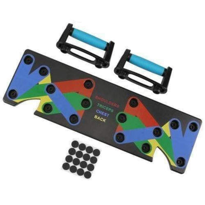 StructuredShop 200001955 All-In-One Push-Up Board Blue