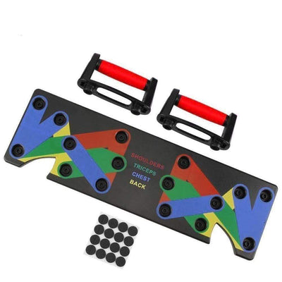 StructuredShop 200001955 All-In-One Push-Up Board Red