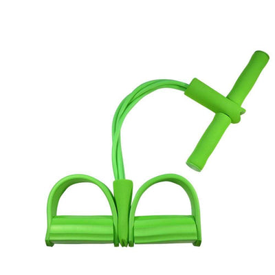 StructuredShop 200001973 High-Quality Elastic Sit-Up Rope Green
