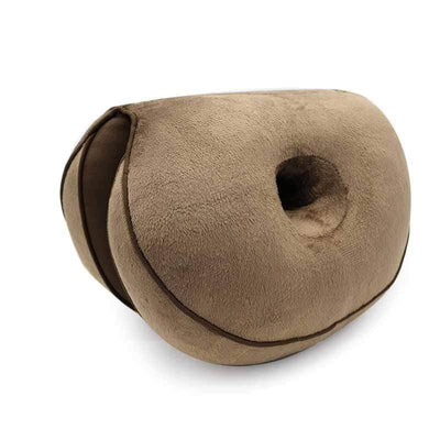 StructuredShop 40503 Premium-Quality Orthopedic Seat Pillow Brown