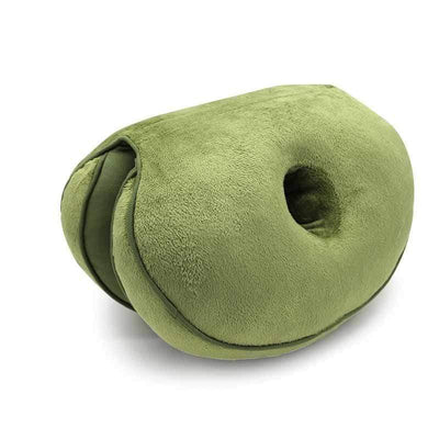 StructuredShop 40503 Premium-Quality Orthopedic Seat Pillow Green