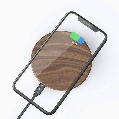 StructuredShop 410204 Fast Wooden Wireless Charger For iPhone And Android