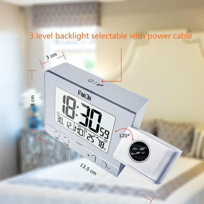 StructuredShop alarm clock PROJECTION SMART ALARM CLOCK (D1)